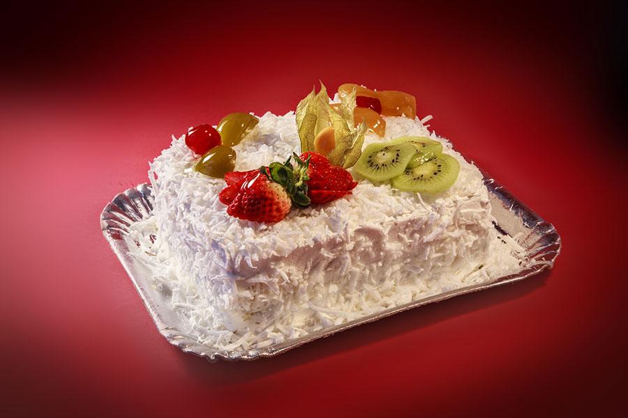 bolo salada de frutas